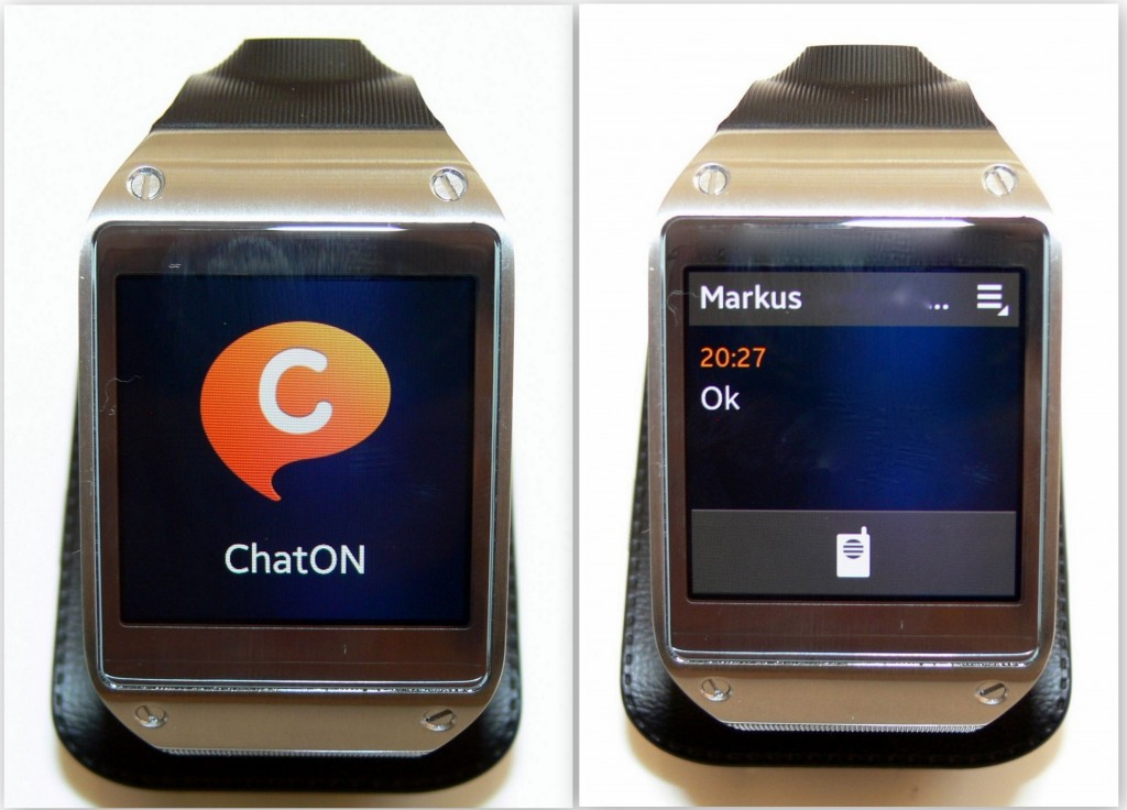 ChatON - SAM Galaxy Gear - SmartTechNews