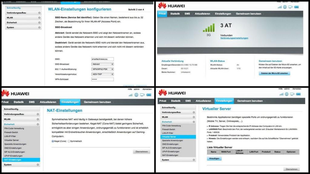 Einstellungen - Huawei E5776 - LTE Modem - smart-tech-news