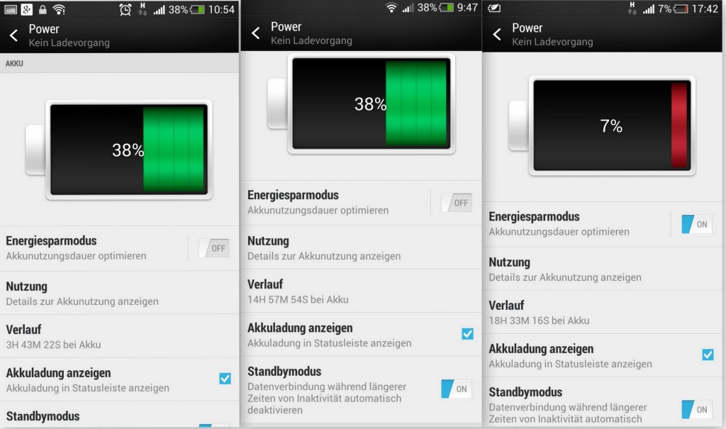 HTC One Mini - Akku Power Management - SmartTechNews