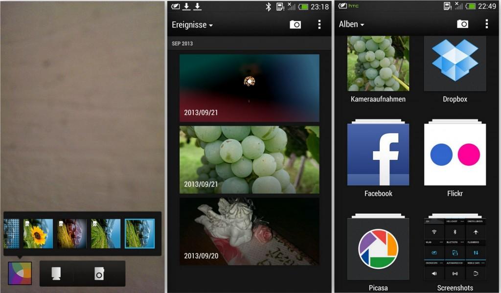 HTC One Mini -Album und Kamera Ansicht - SmartTechNews