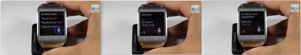 S-Voice - SAM Galaxy Gear - SmartTechNews