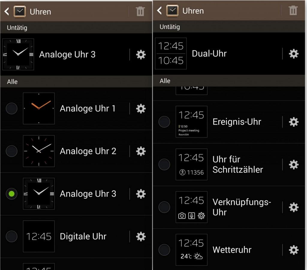 Uhren Design Vorlagen - SAM Galaxy Gear - SmartTechNews