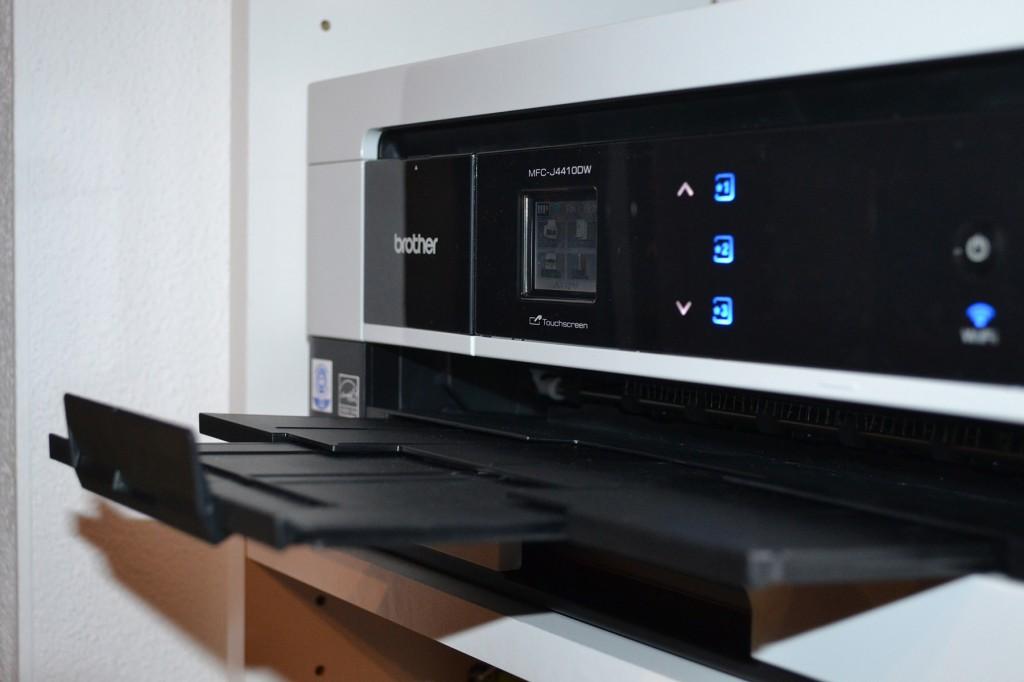 Brother MFCJ4410DW-Papierauszug - smart-tech-news.eu