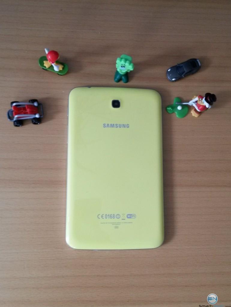 Rückseite des Samsung Galaxy Tab 3 Kids