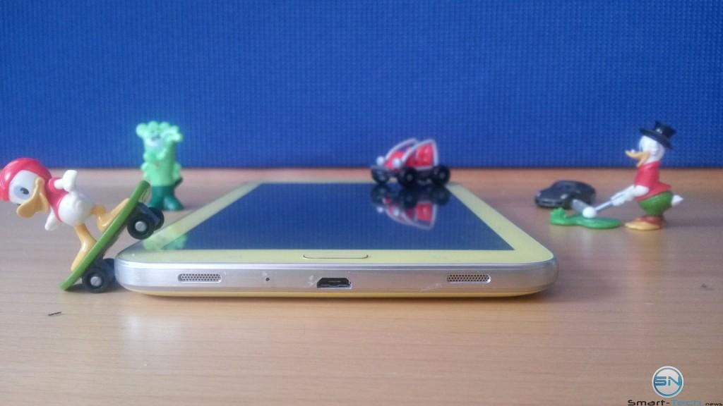 Unterseite des Galaxy Tab 3 Kids