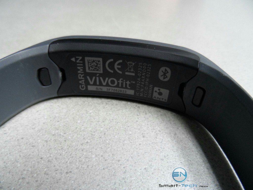 Sensor Garmin Vivofit - smart-tech-news.eu