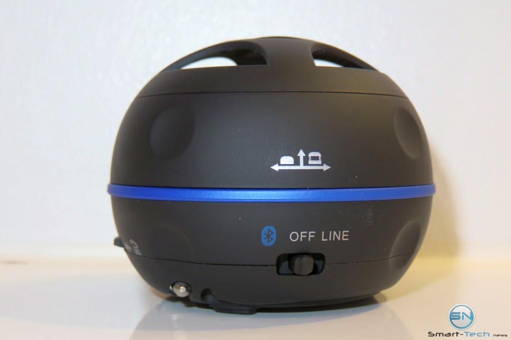 Bluetooth - Off - Line Button - Raikko Dance BT Kevlar