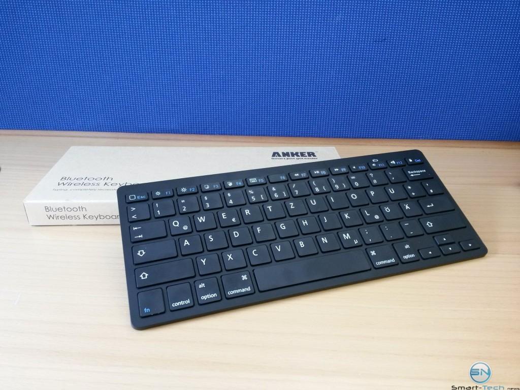Unboxing der Anker Bluetooth Tastatur