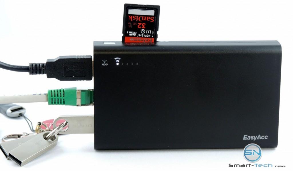 LAN, USB, SD, WLan - Easy Acc  SmartTechNews
