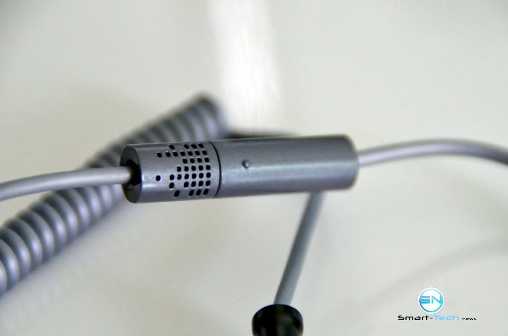 Mikro und Taste -Aukey Audio Kabel