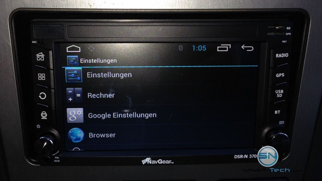 Einstellungen - NavGear DSR-N370 - DACH - smart-tech-news.eu