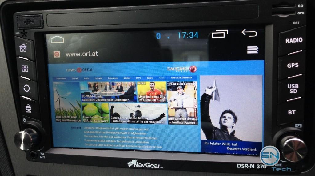 Internet - NavGear DSR-N370 - DACH
