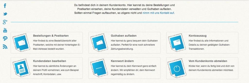 Kundenkonto Homepage Urlaubsgruss - SmartTechNews