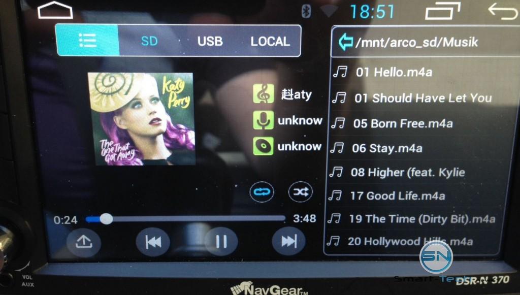 Musikplayer - NavGear DSR-N370 - DACH