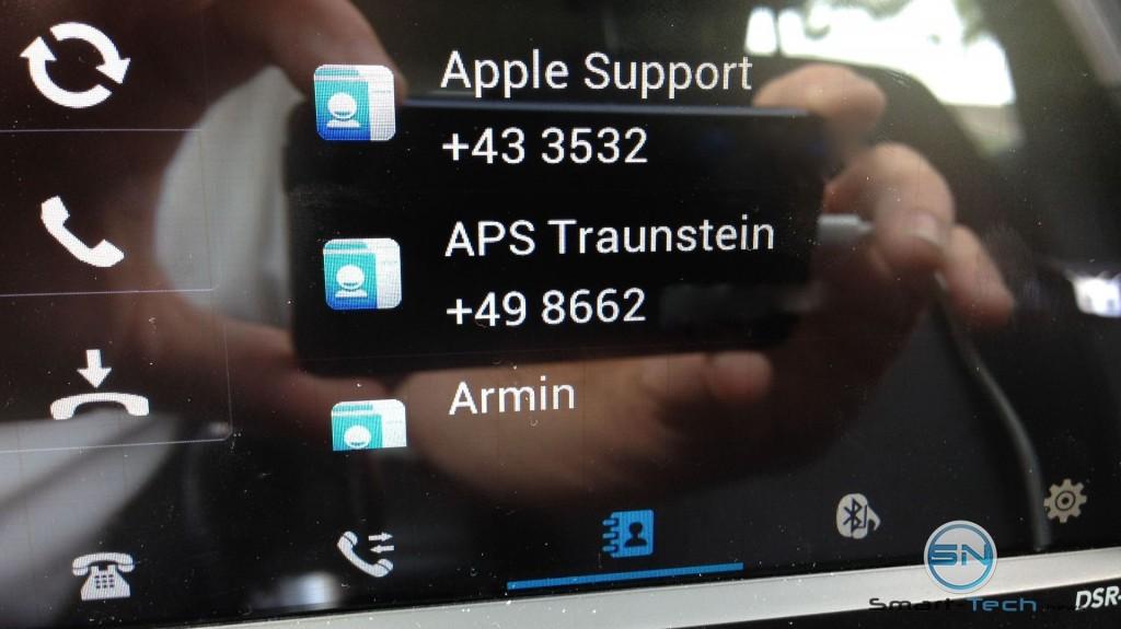 Telefonbuch - NavGear DSR-N370 - DACH - smart-tech-news.eu