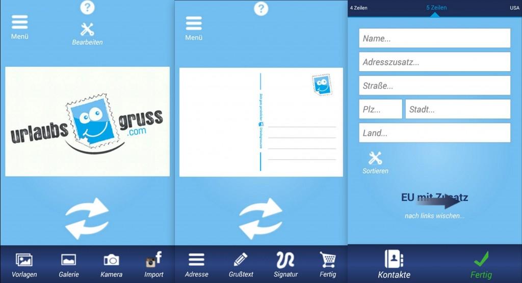 Urlaubsgruss App - Postkarten erstellen - SmartTechNews