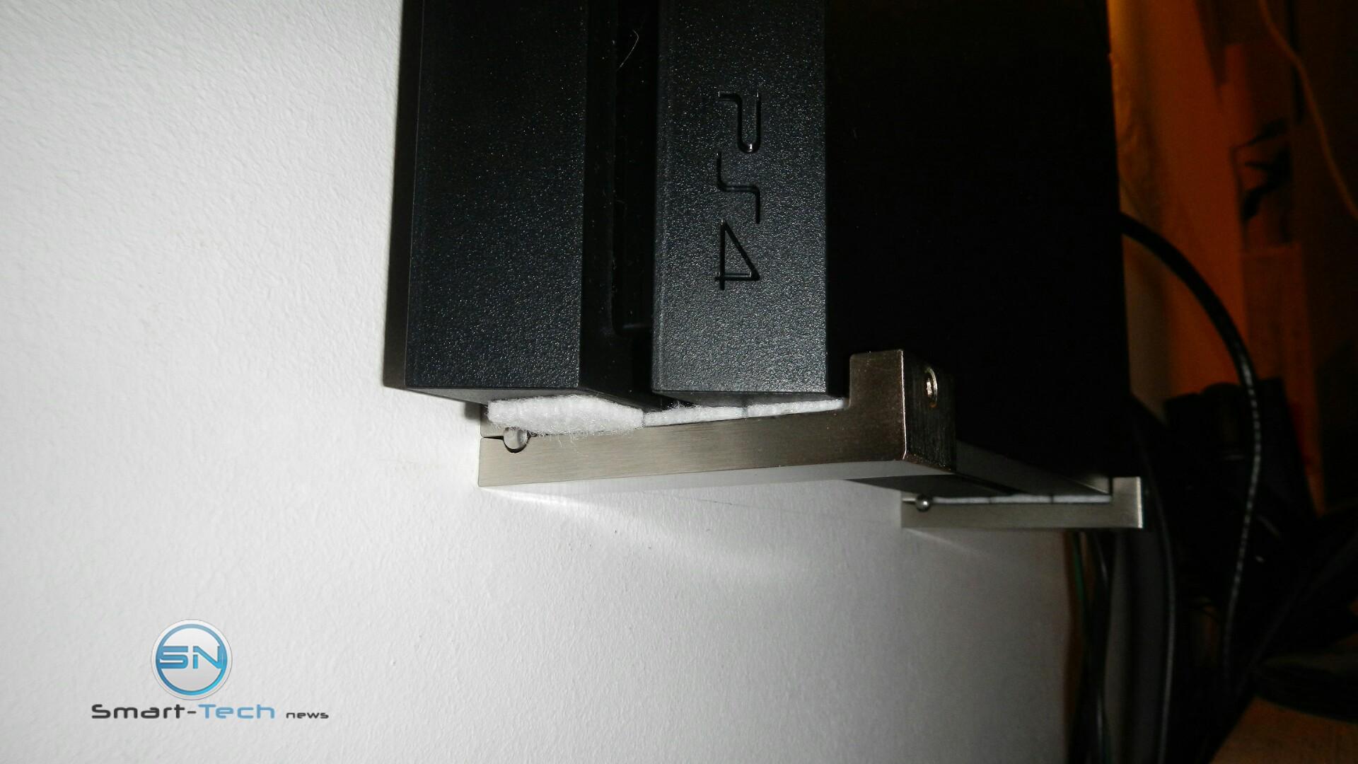 Tv wand selber bauen ikea  Playstation 4 Wandhalterung aus dem Hause IKEASmart Tech News