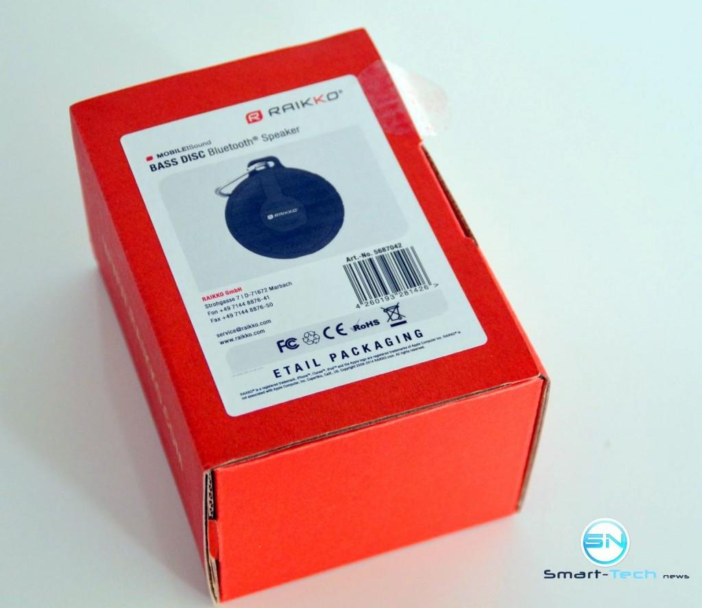 Unboxing - Raikko Bass Disc - SmartTechNews