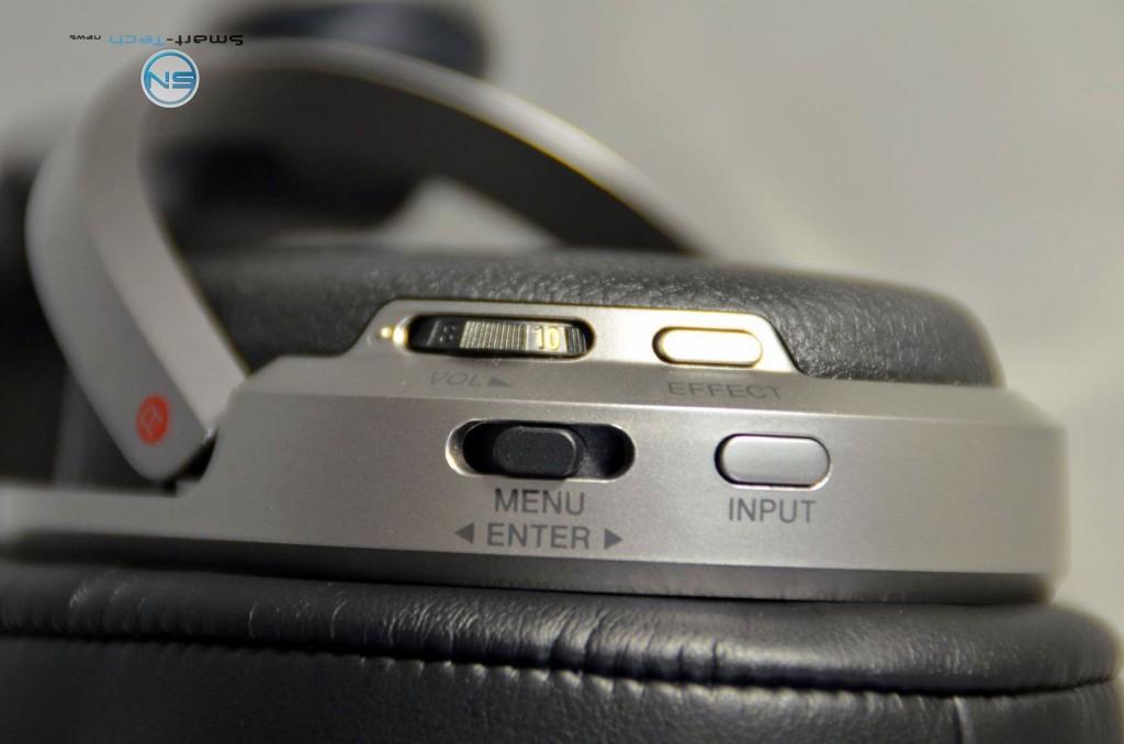 Bedienknöpfe - Sony MDR-HW700DS - SmartTechNews