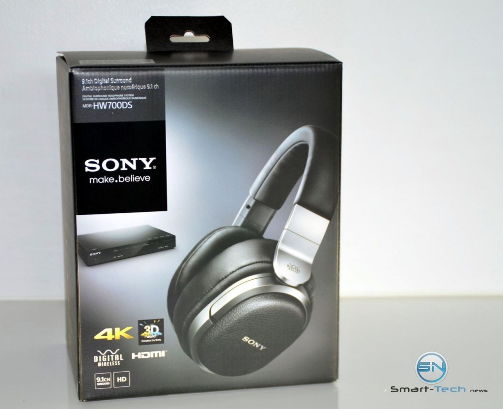 Verpackung - Sony MDR-HW700DS - SmartTechNews