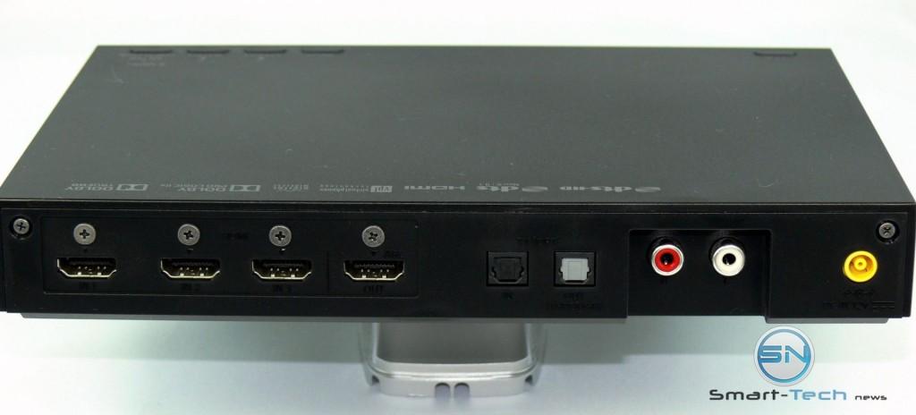 Anschlüsse an der Box - Sony MDR-HW700DS - SmartTechNews