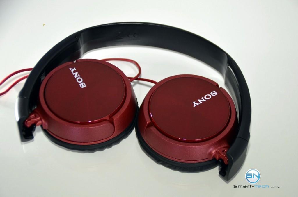 Sony MDR ZX310AP - SmartTechNews - Zusammenklappbarkeit
