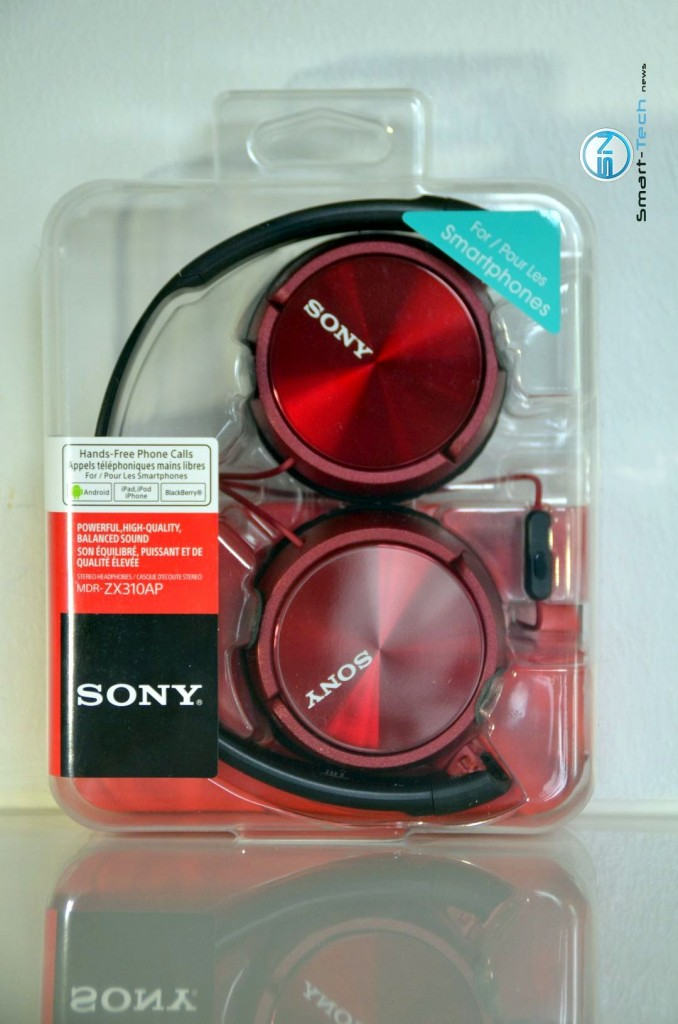 Sony MDR ZX310AP - SmartTechNews - Unboxing