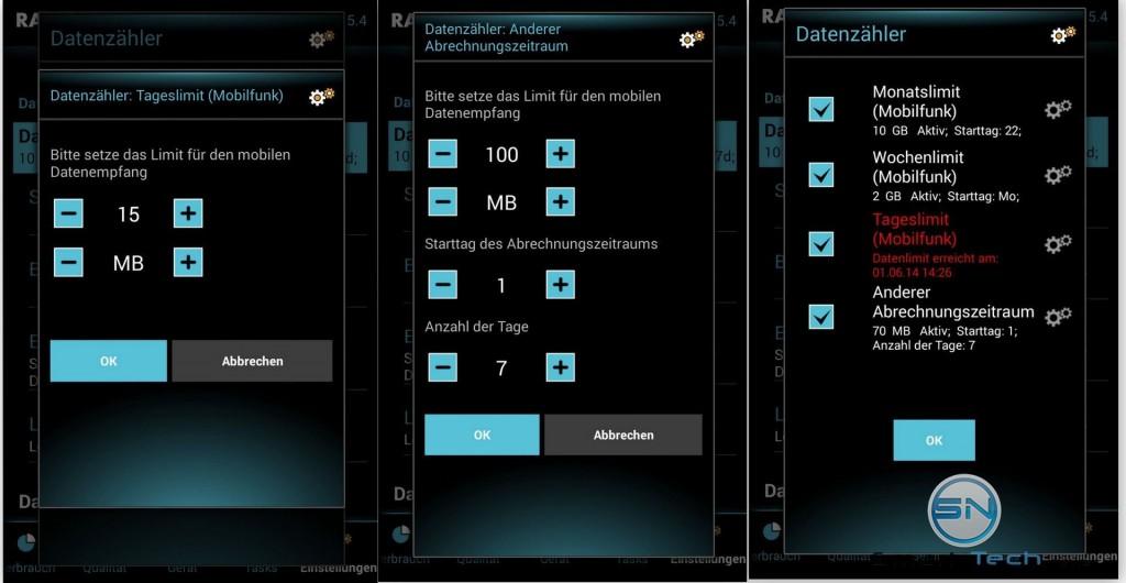 Daten Limit Verwaltung - SmartTechNews