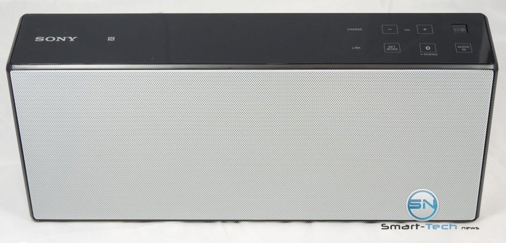 Frontansicht - Sony SRS X7 - Soundsystem - SmartTechNews