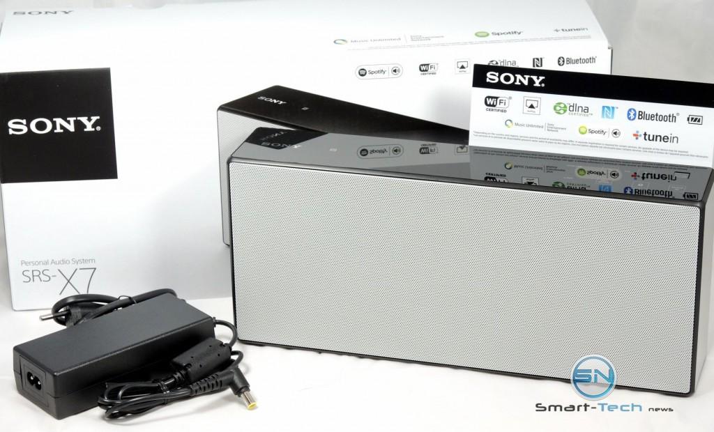 Unboxing - Sony SRS X7 - Soundsystem - SmartTechNews