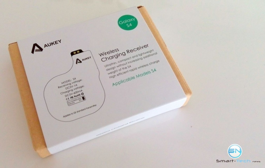Verpackung Aukey Receiver Pad - SmartTechNews