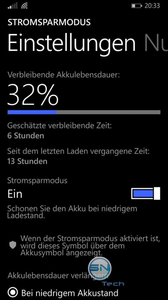 Akkulebensdauer - Nokia Lumia 930 - SmartTechNews