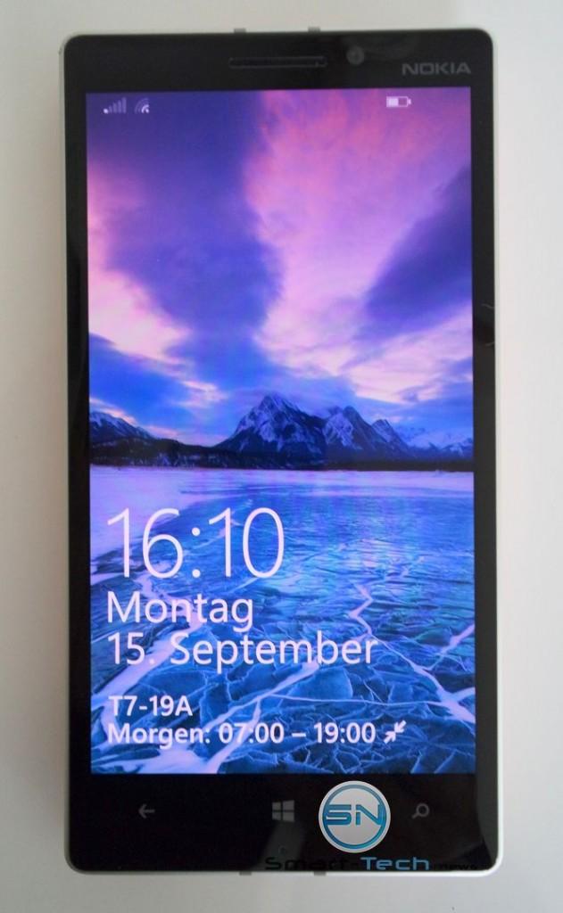 Frontansicht - Nokia Lumia 930 - SmartTechNews