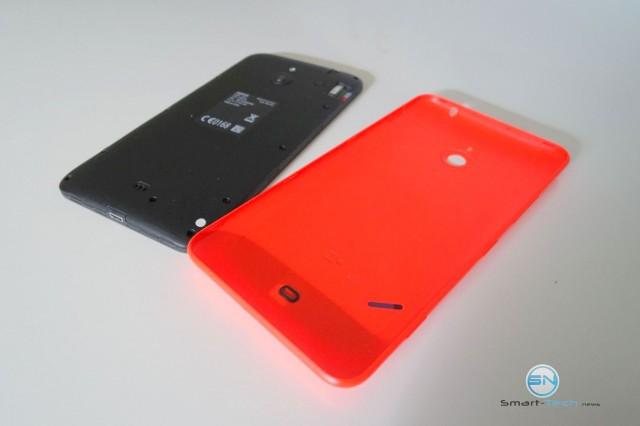abgenommene Rückseite - Nokia Lumina 1320