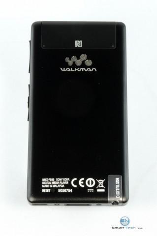 Sony Walkman NWZ F886 - Rückseite