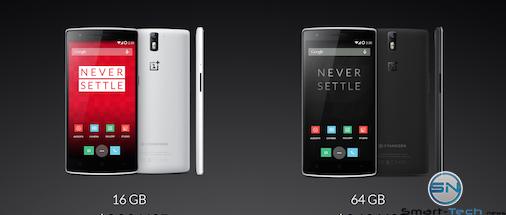 Versionen des OnePlus One