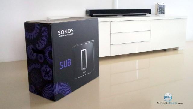 endlich da - Sonos SB