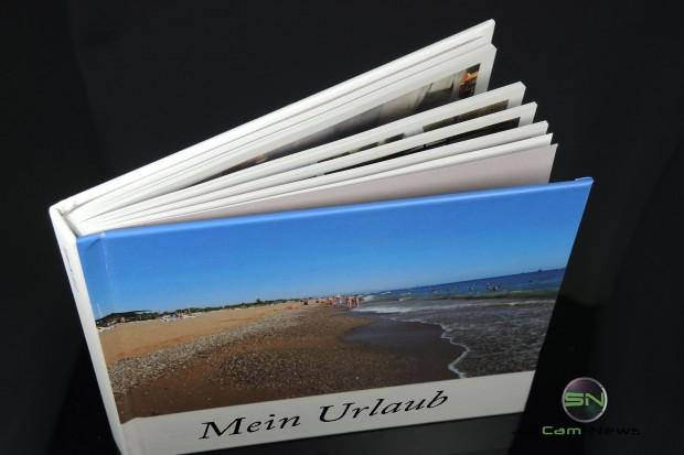 gebundene Ausgabe des Fotobuchs und App Story Foto Album Samsung