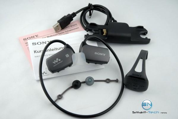 Unboxing - Sony Walkman NWZ WS613 - SmartTechNews