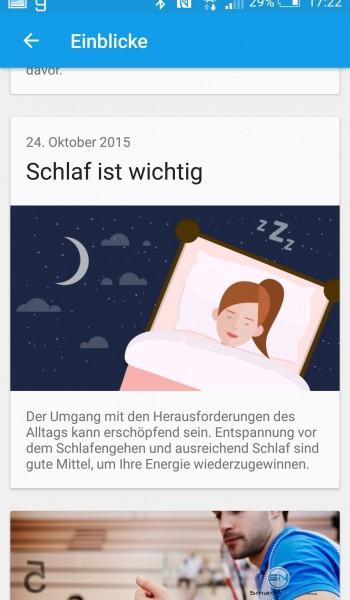 Schlaf ist wichtig - Sony SmartBand2 - SmartTechNews