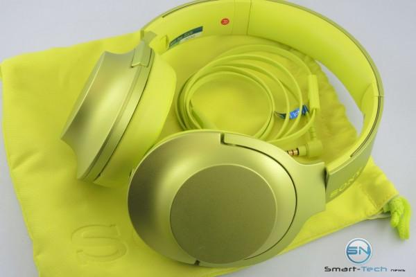 Sony Kopfhörer MDR-100AAP lime gelb - SmartTechNews