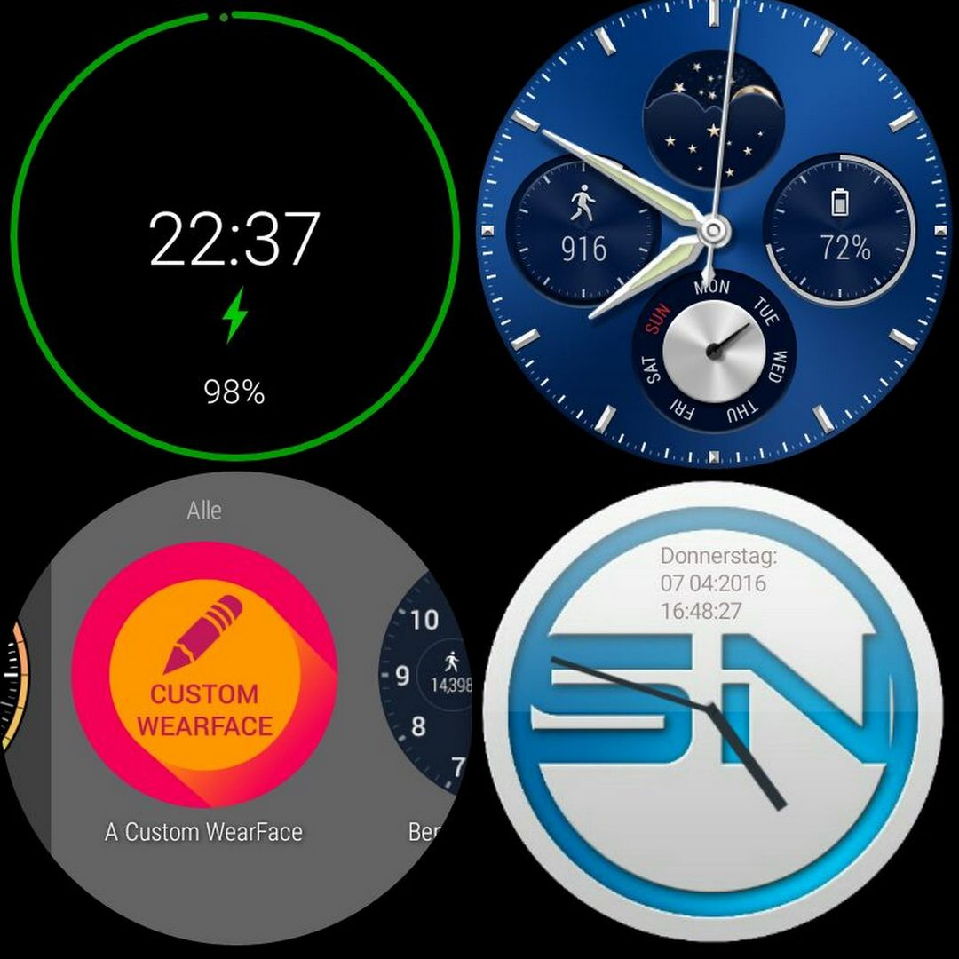 Clock Watch Face - Huawei Watch - SmartTechNews