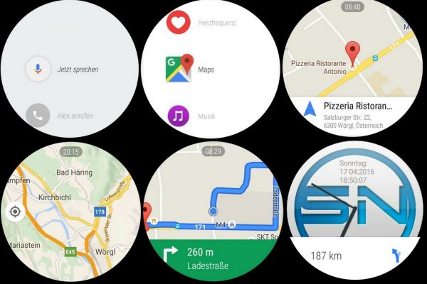 Google Maps - Huawei Watch - SmartTechNews