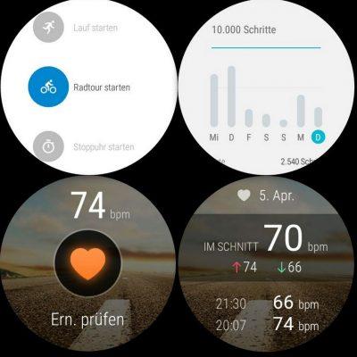 Sport Puls Strecke - Huawei Watch - SmartTechNews