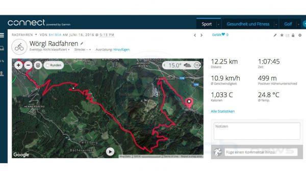 Bike TestTour - Garmin Fenix 3 HR Saphir - SmartTechNews