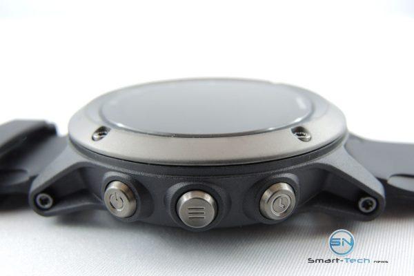Navigations Button link - Garmin fenix 3 HR Saphir - SmartTechNews