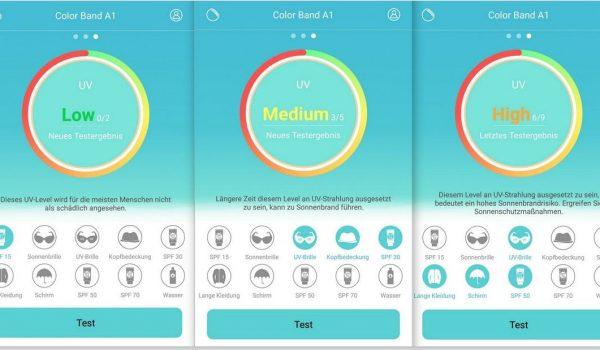 UV-Messungen-Huawei-ColorBand-A1-SmartTechNews