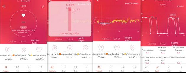 App Puls Tracking NewGen FBT55 HR SmartBand