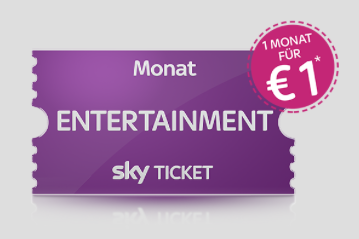 Sky Ticket 1 Euro ein Monat