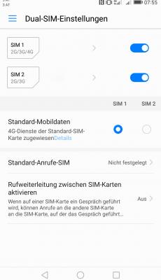 DualSim Funktion - Huawei Mate 9 - SmarttechNews